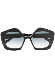 Marni oversized frame sunglasses