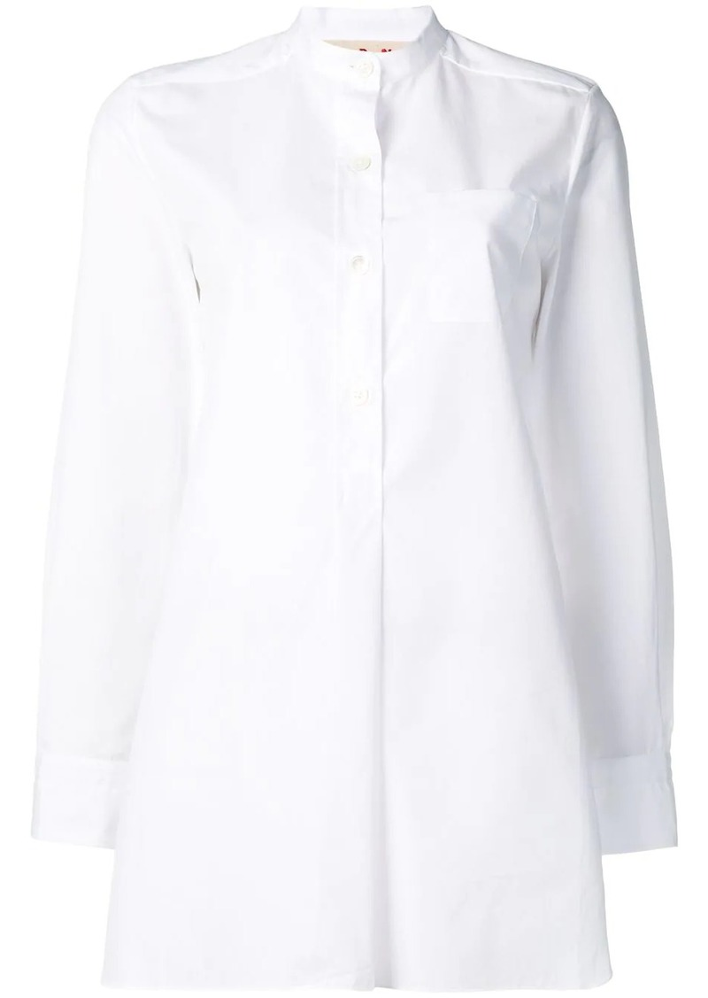 Marni oversized long-sleeve shirt