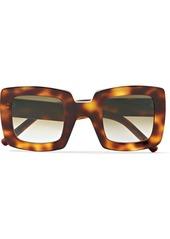 Marni Oversized Square-frame Tortoiseshell Acetate Sunglasses