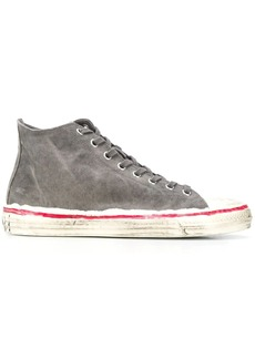 Marni painted high-top sneakers