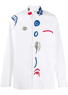 Marni painted prints shirt