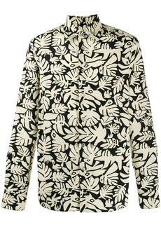 Marni palm printed shirt