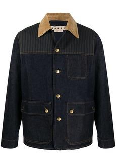 Marni panelled denim jacket