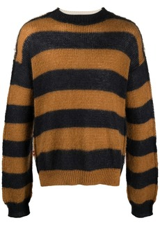 Marni panelled design knitted jumper