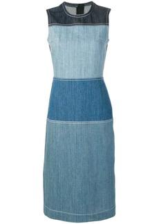 Marni panelled shift dress