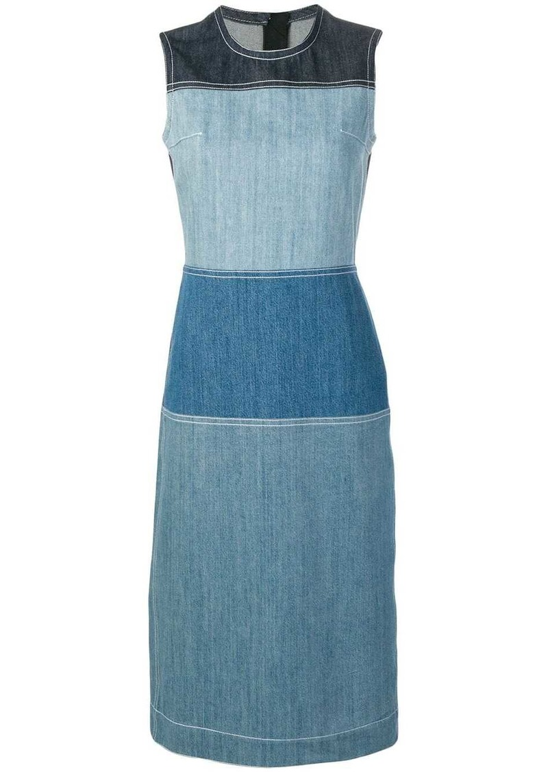 Marni panelled shift dress