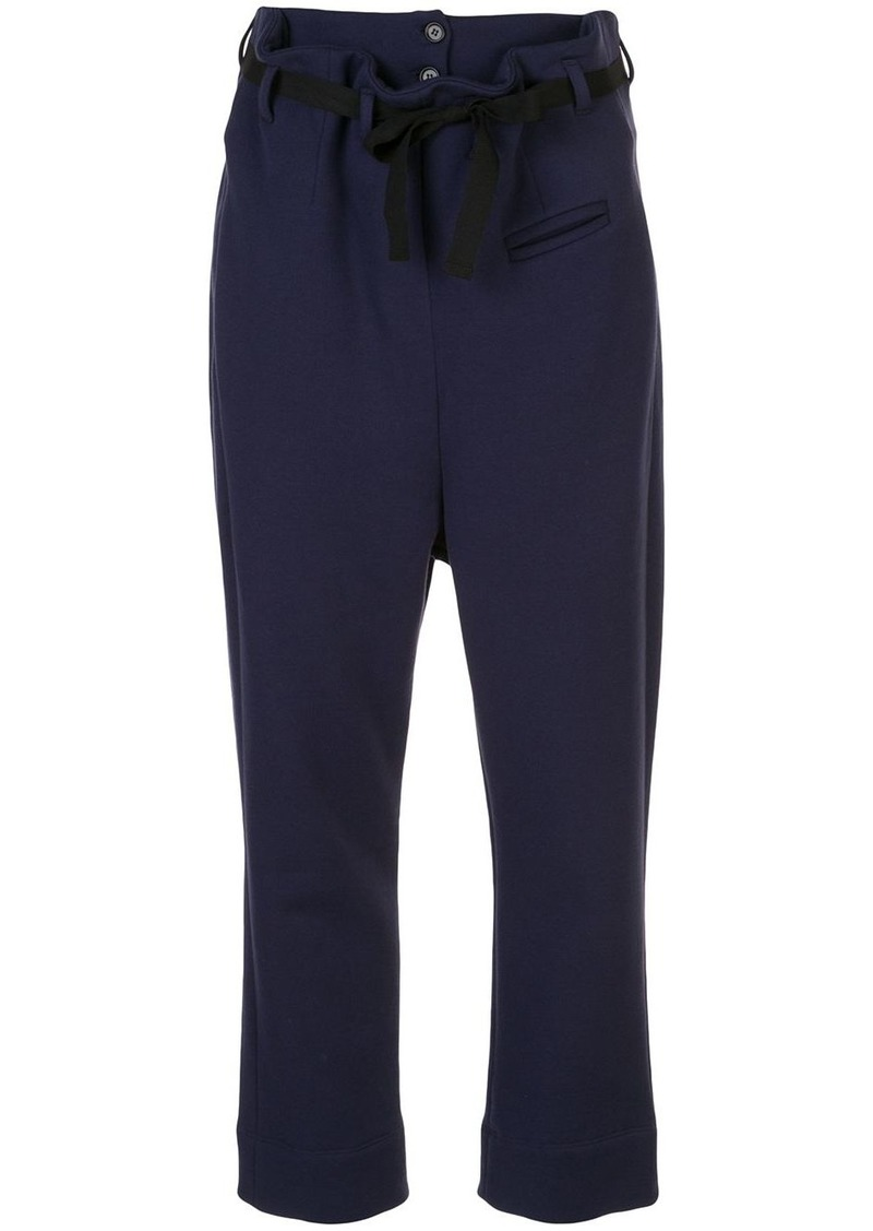 Marni paperbag waist trousers