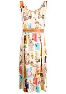 Marni patchwork dress