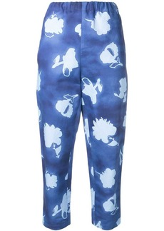 Marni patterned trousers