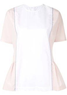 Marni peplum side blouse
