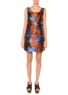 Marni Pimpernel Blossom Jacquard Dress