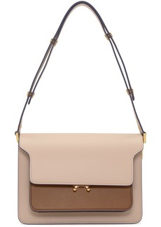 Marni Pink & Brown Medium Trunk Bag
