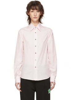 Marni Pink Bunny Patch Shirt