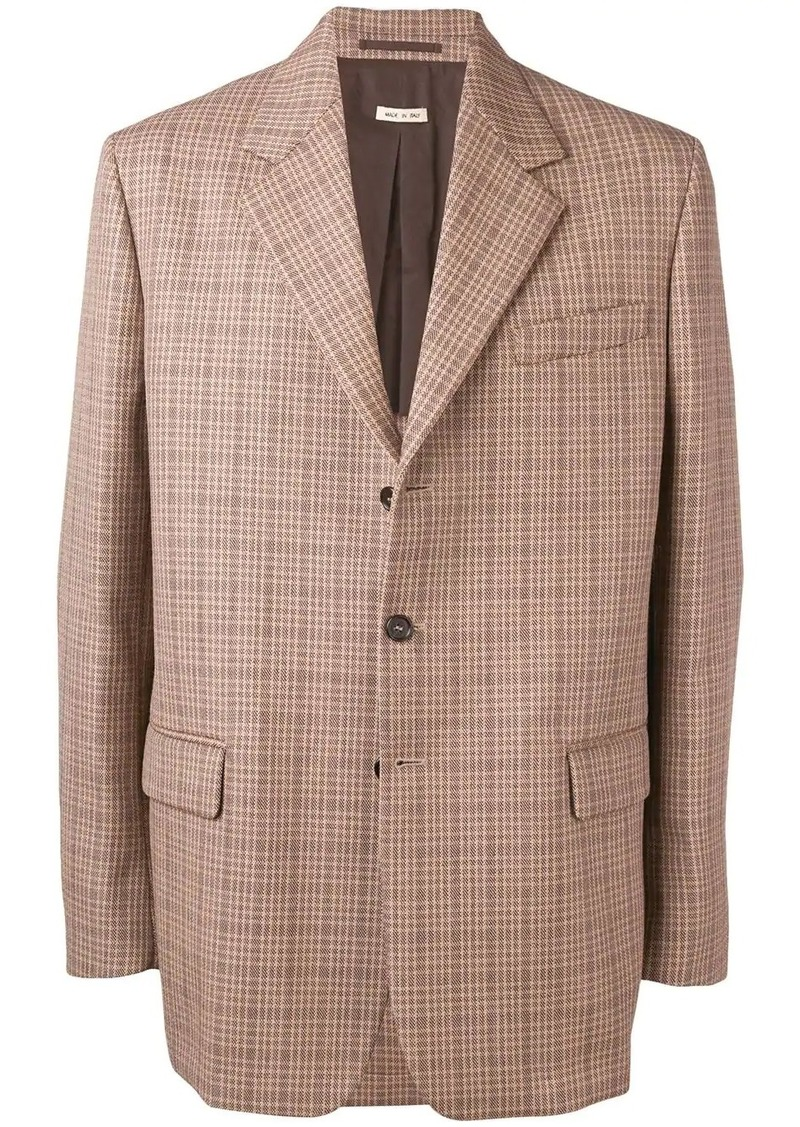 Marni plaid blazer