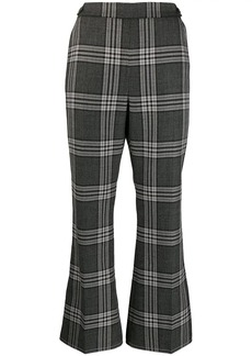 Marni plaid print trousers