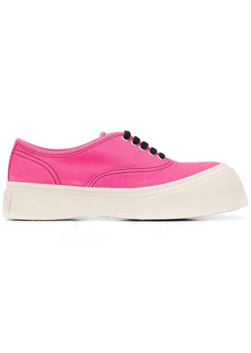 Marni platform sole sneakers