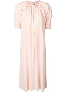 Marni pleated shift dress