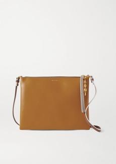 Marni Pochette Large Two-tone Leather Shoulder Bag