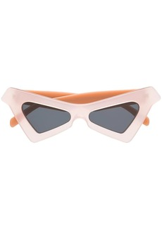 Marni pointed cat eye sunglasses