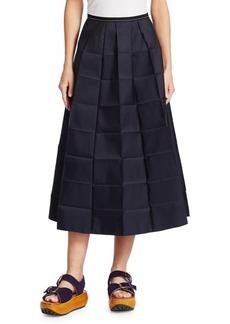 Marni Pressed Midi Skirt