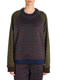 Marni Printed Jersey Sweatshirt