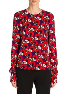 Marni Printed Jersey Top