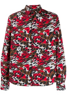 Marni printed long sleeve shirt