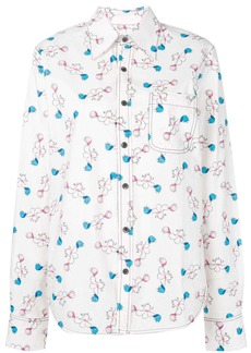 Marni printed oversized shirt