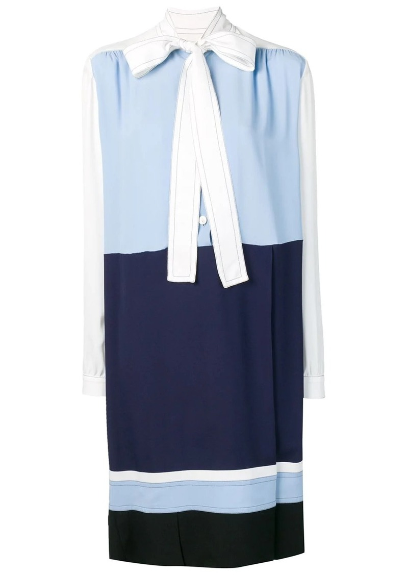 Marni pussy bow shift dress