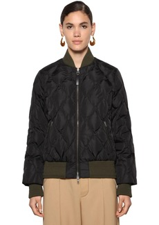 Marni Quilted Nylon Down Bomber Jacket