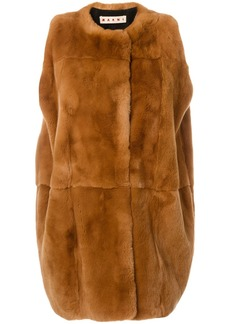 Marni rabbit fur gilet