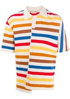 Marni reconstructed polo shirt