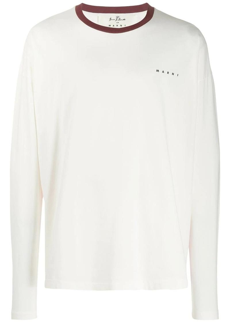 Marni reverse print sweatshirt
