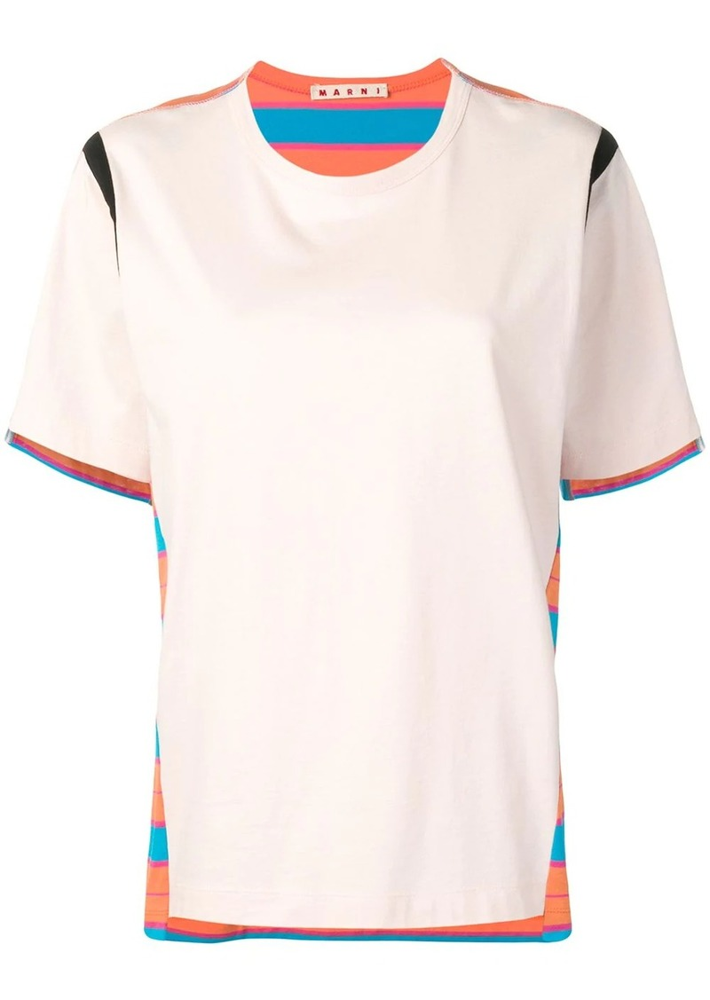 Marni reversible striped T-shirt