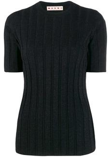 Marni ribbed knit top