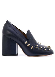 Marni ring-detail pumps