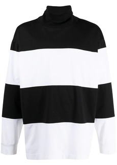 Marni roll-neck striped jumper