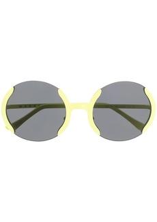 Marni round frame sunglasses
