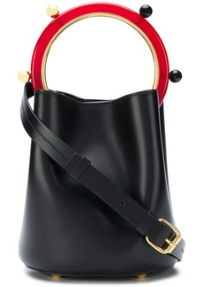 Marni round handled shoulder bag