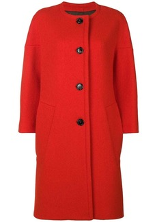 Marni round neck coat