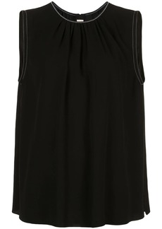 Marni ruched detail tank top