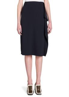 Ruffle Side Skirt