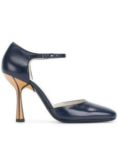 Marni sculpted heel pumps