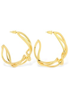 Marni Sculpture Hoop Earrings