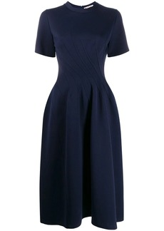Marni shortsleeved flared dress