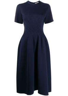 Marni shortsleeved flared dress