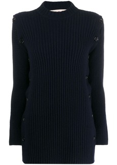 Marni side button detail jumper