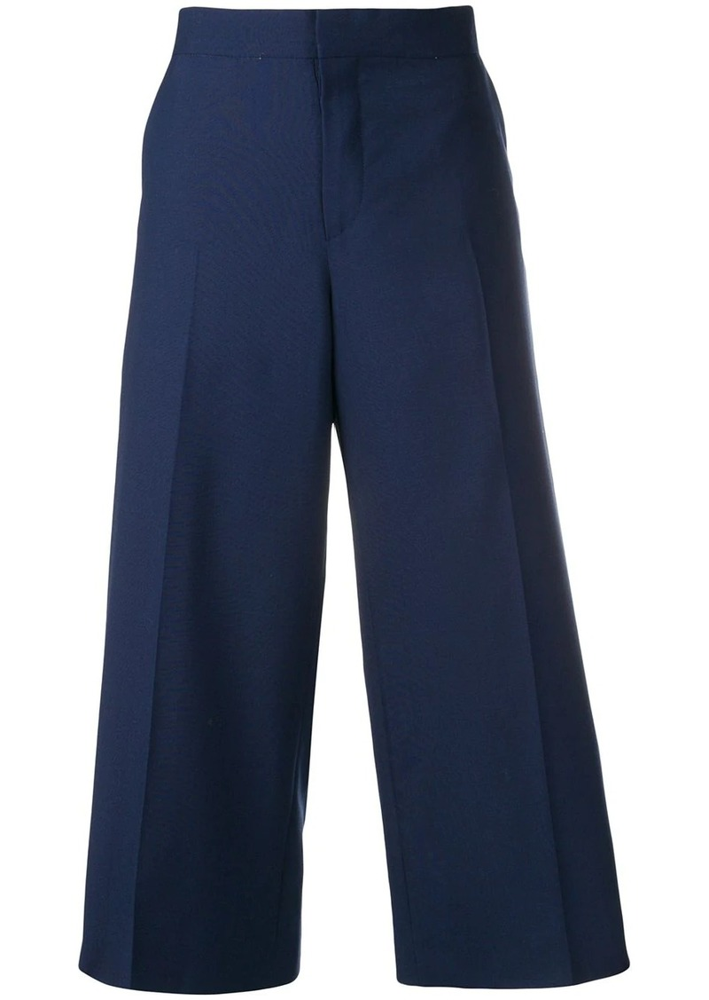 Marni side stitch culottes