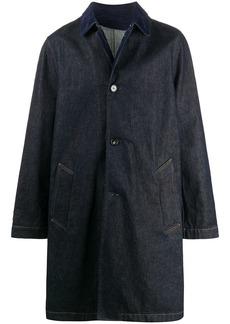 Marni single-breasted denim coat