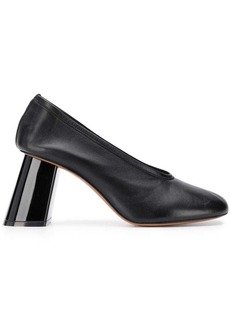 Marni slanted heel pumps
